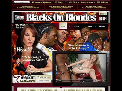 0 blacks on blondes
